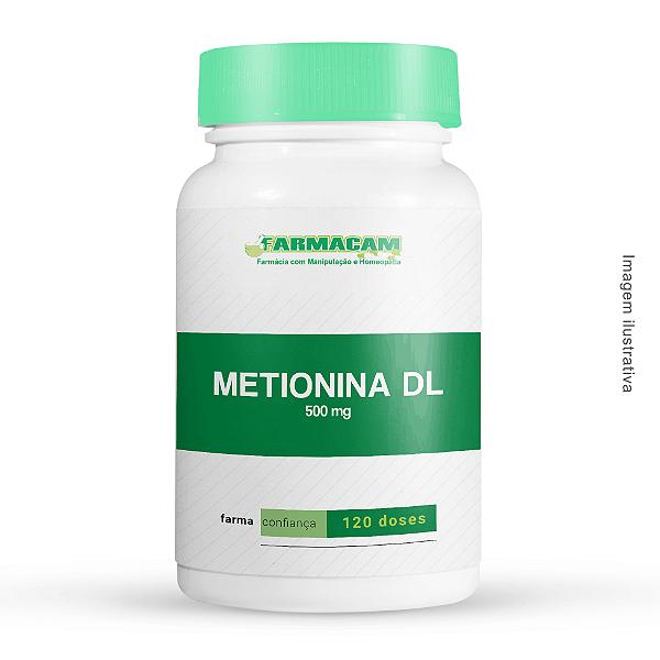 Metionina DL 500 mg