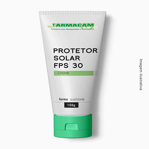 Protetor Solar Creme FPS 30