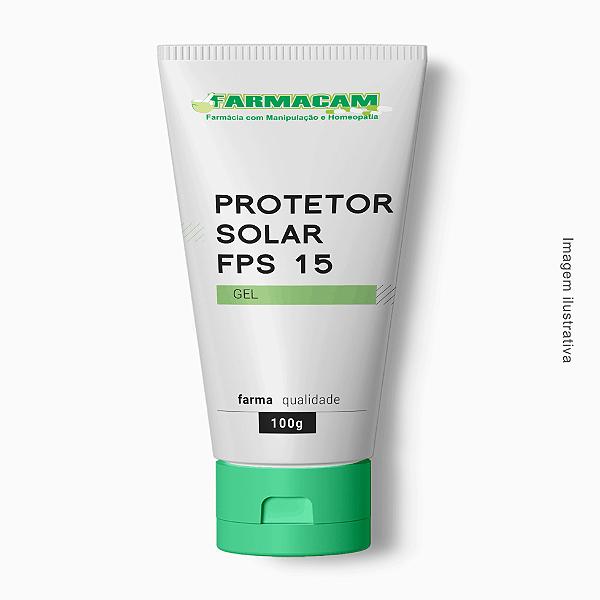 Protetor Solar Gel FPS 15