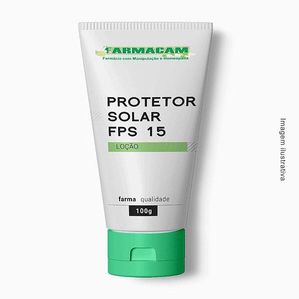 Protetor Solar Loção FPS 15