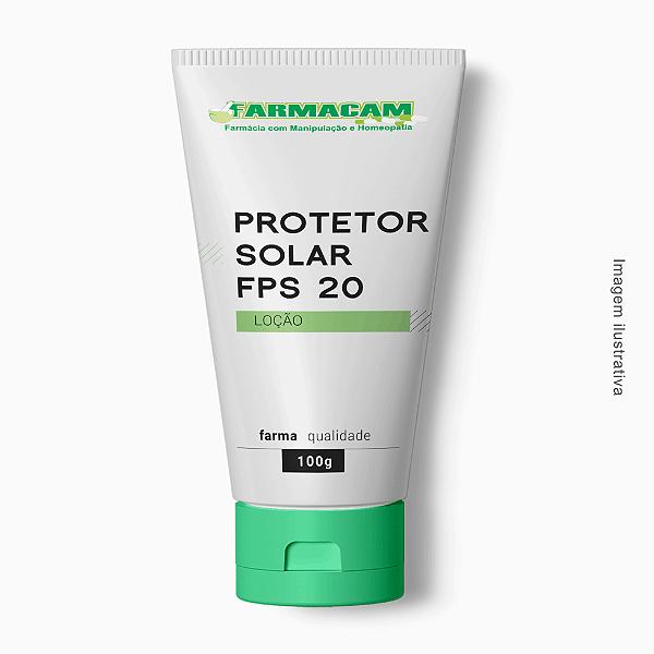 Protetor Solar Loção FPS 20