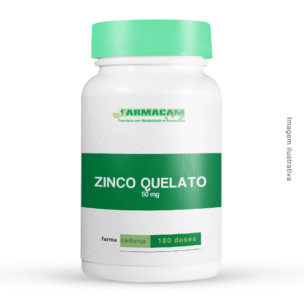 Zinco Quelato 50 mg