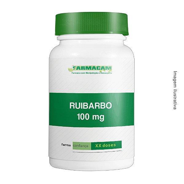 Ruibarbo 100 mg