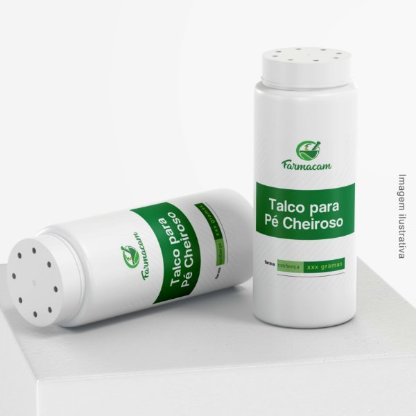Pé Cheiroso - Talco Farmacêutico - Tratamento de Odores