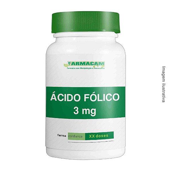 Ácido fólico 3 mg