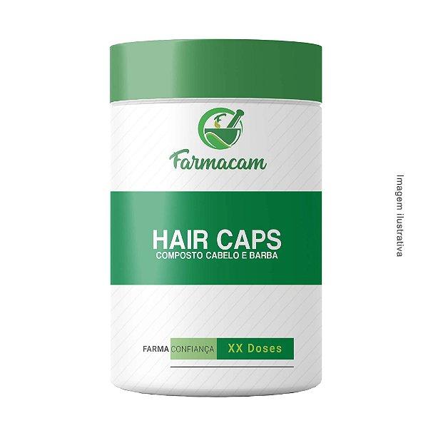 Hair Caps - Composto para Cabelo e Barba