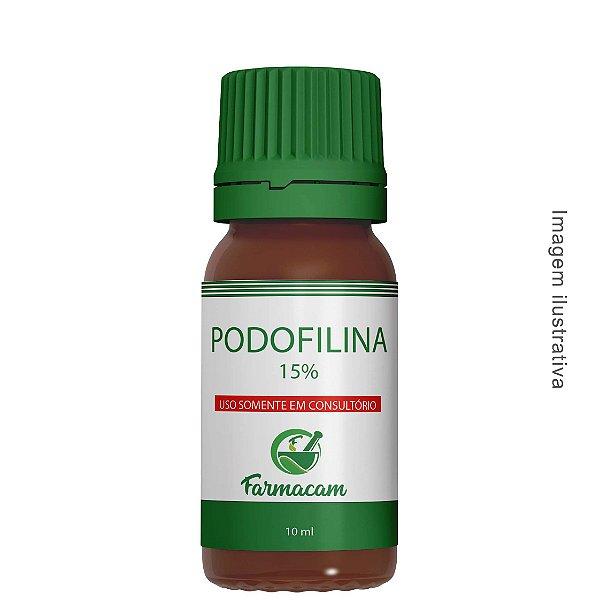 Podofilina 15% - 10 ml