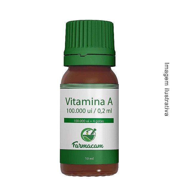 Vitamina A 100.000 ui - Base Oleosa
