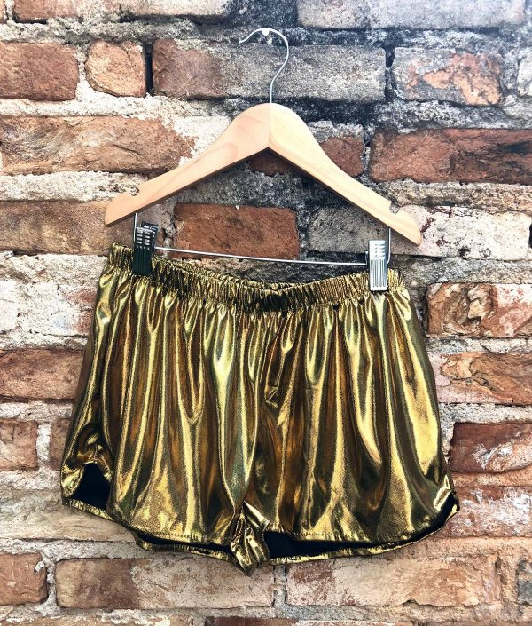Shorts Abigail Dourado