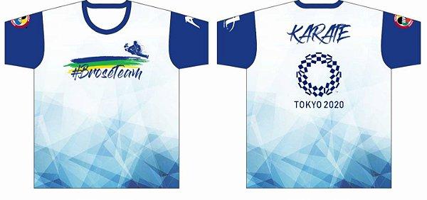 Camiseta #BroseTeam Karate Tokyo 2020