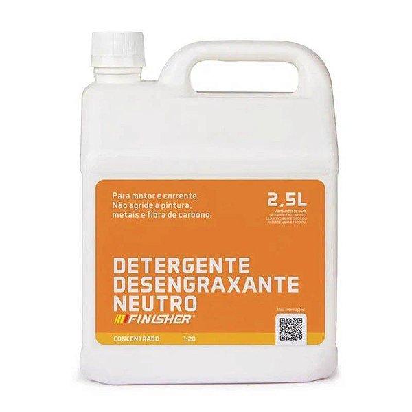 Detergente Desengraxante Neutro 2,5 litros Finisher