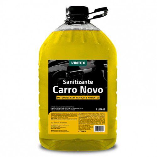 Sanitizante Carro Novo - Aromatizante Bactericida para Veículos e Ambientes - Vintex (5 Litros)