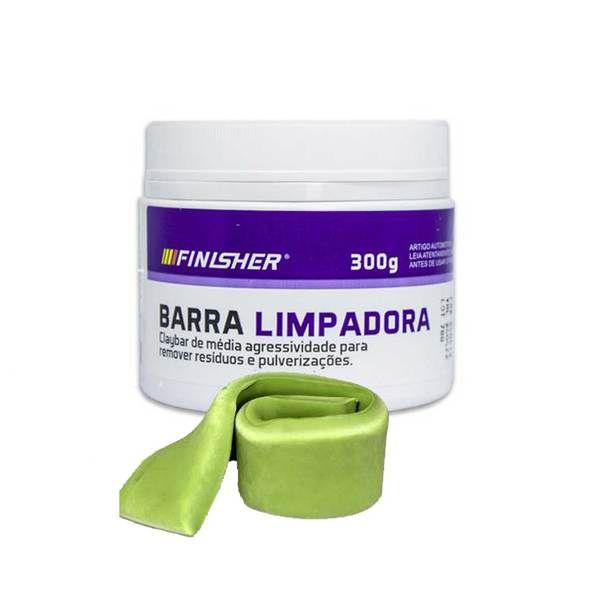 BARRA LIMPADORA  CLAY BAR FINISHER 300GR