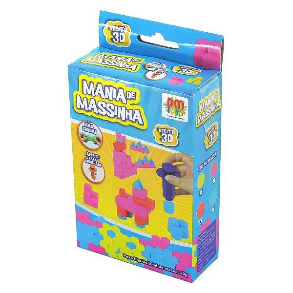 Mania de Massinha Efeito 3D Pedagógico Pocket Formatos Kids