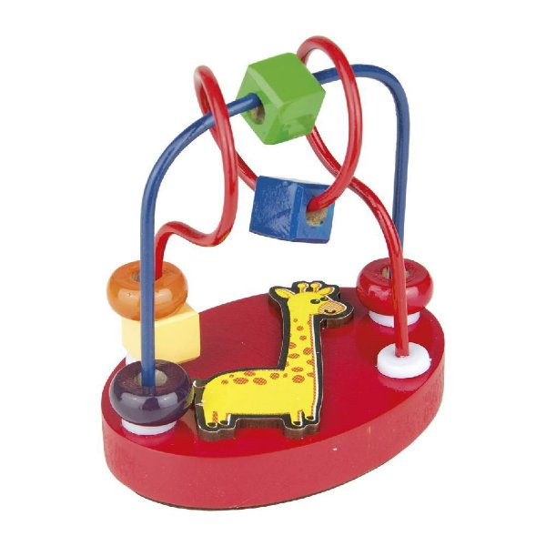 Aramado Mini Girafinha Pedagógico Kids Brinquedo