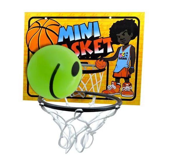 Mini Cesta Basket Jogo e Bolinha Smile Kids Esporte