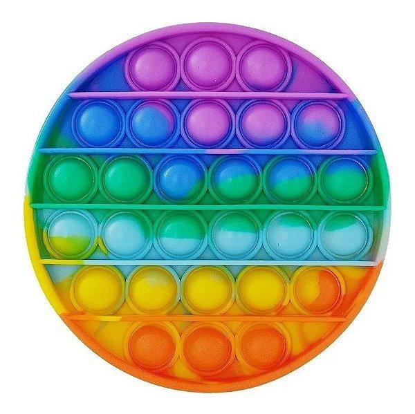 Brinquedo Pop It Fidget Redondo Anti Stress Sensorial