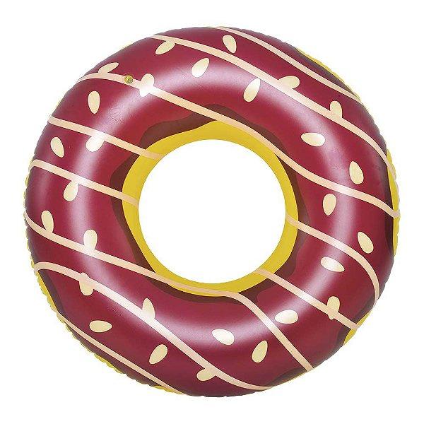Boia Donuts Rosquinha CHOCOLATE Grande Piscina Pool Party