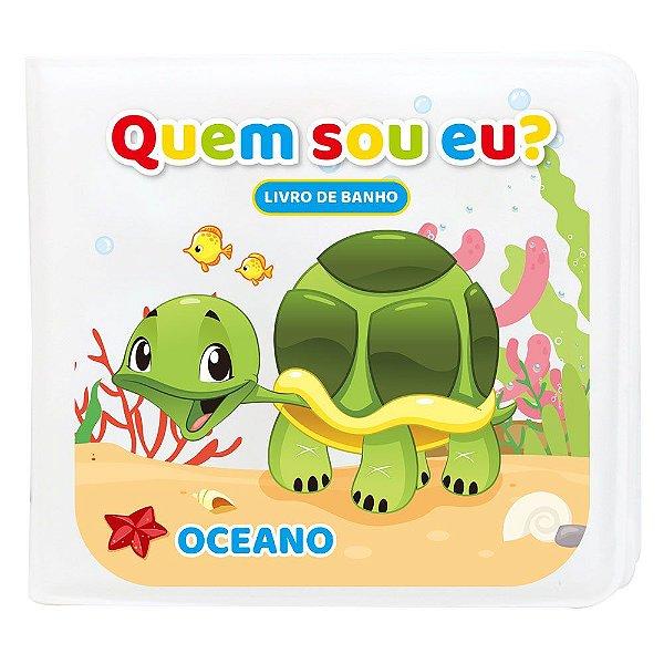 Livro de Banho OCEANO Muda de Cor Quando Molha Baby Kids