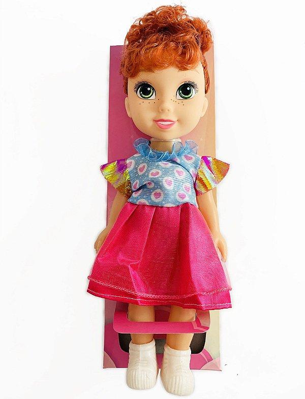 Boneca Ruiva MILA Universo das Meninas Brinquedo Infantil