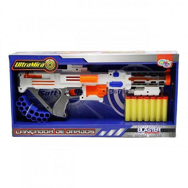 Rifle Lança Dardos Nerf com Dardos de Espuma Brinquedo