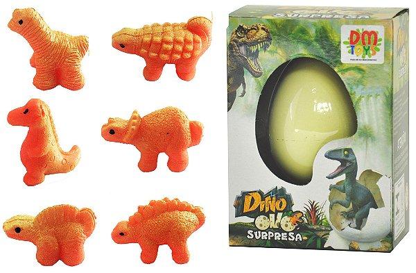 Ovo Dino Surpresa 6cm Ovo que Quebra e NASCE NA ÁGUA!