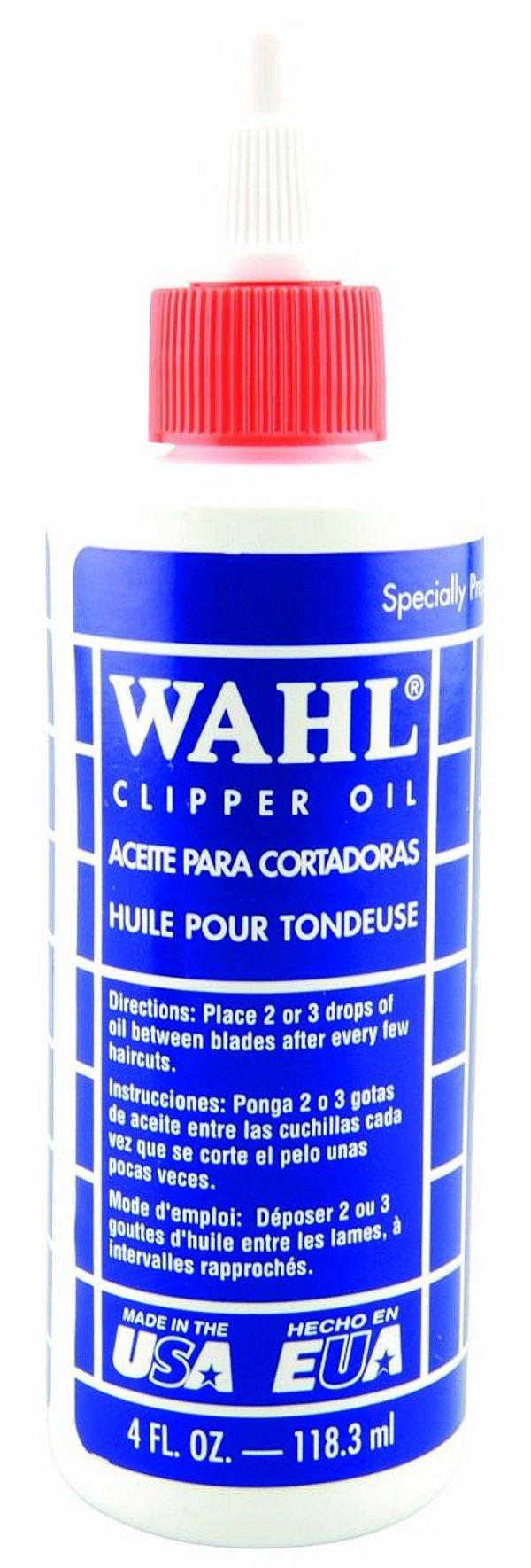 OLEO LUBRIFICANTE WAHL CLIPPER - 118 ML