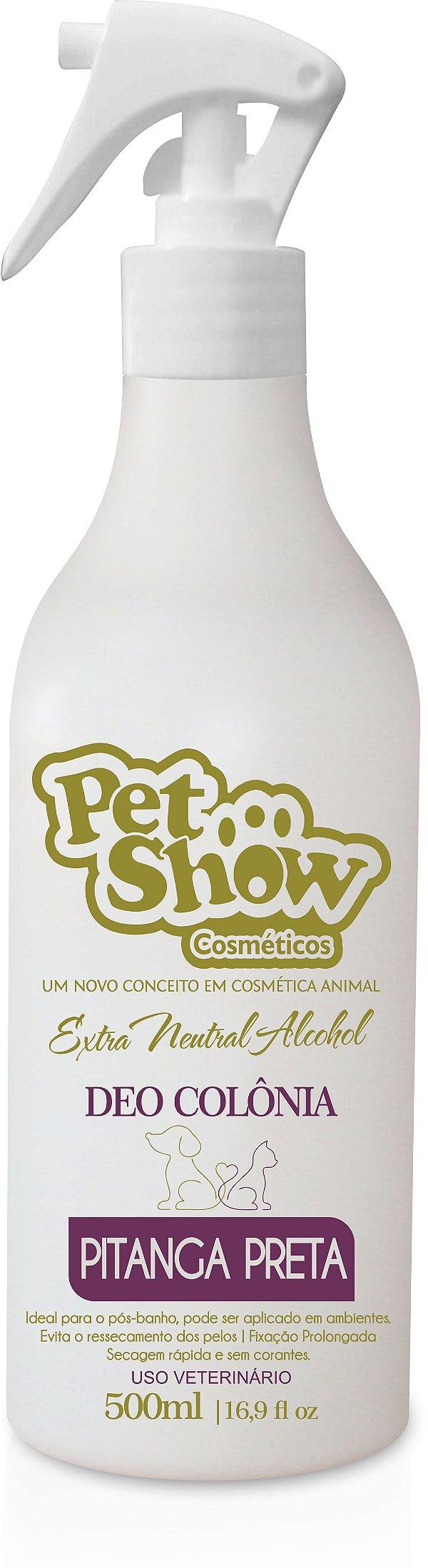 DEO COLONIA PITANGA PRETA 500ML - PET SHOW
