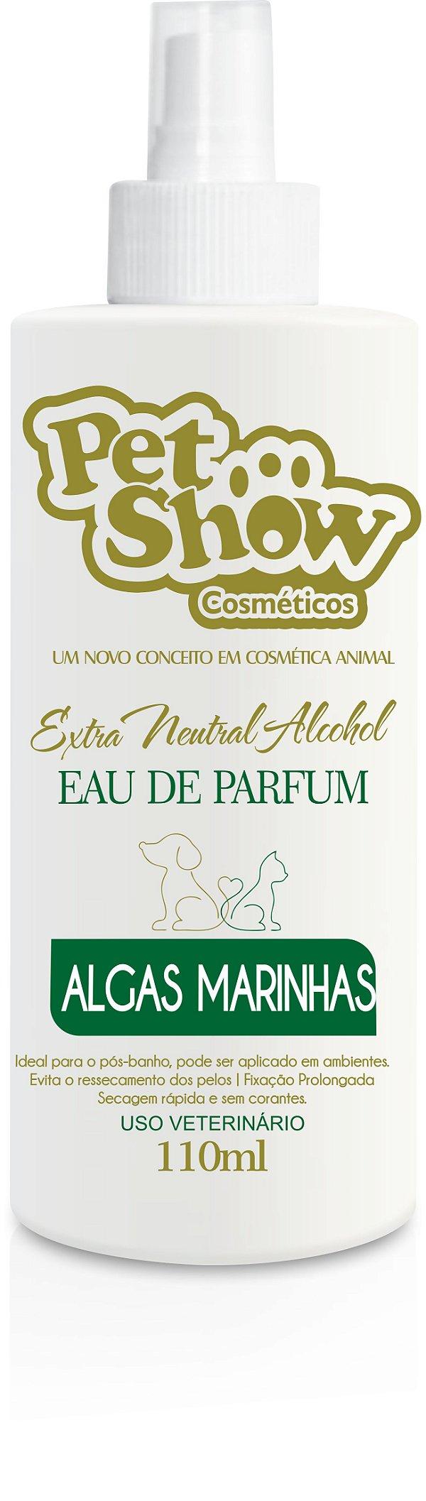 PERFUME ALGAS MARINHAS 110ML - PET SHOW