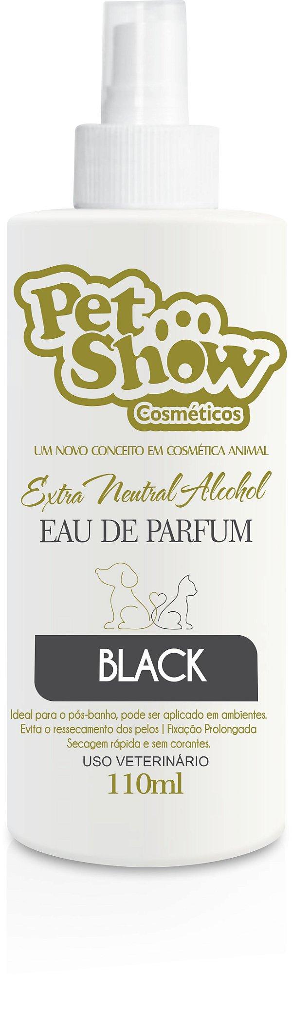 PERFUME BLACK 110 ML - PET SHOW