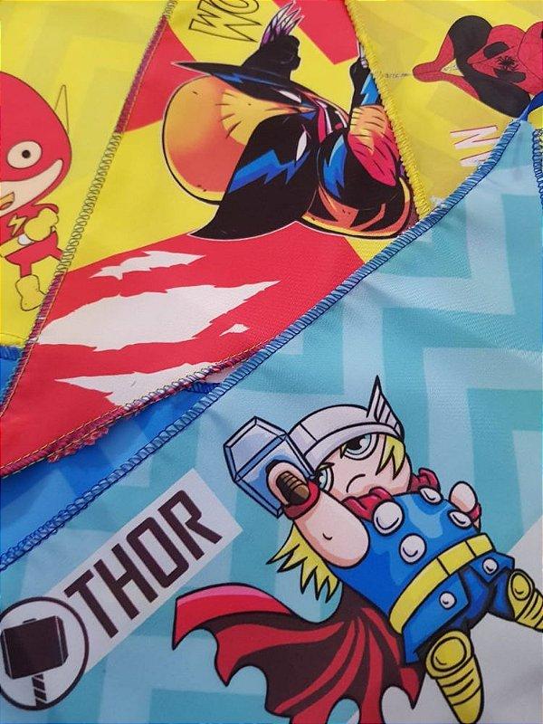 B40211 BANDANA SUPER HEROIS KIDS - 'M' - 10 UN