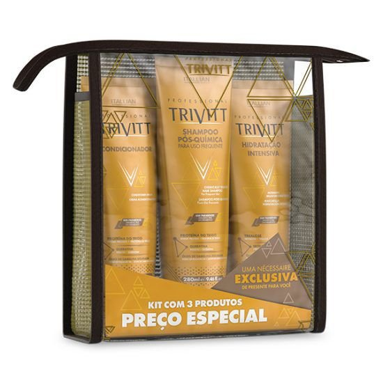 Kit Manutenção com Hidratação Intensiva Trivitt ITALLIAN
