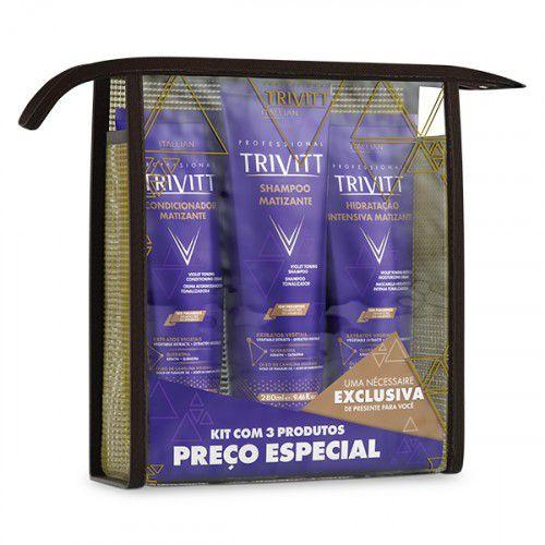 Kit Manutenção Matizante Trivitt ITALLIAN
