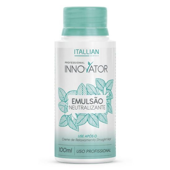 Emulsão Neutralizante Straight Hair Innovator ITALLIAN 100ml
