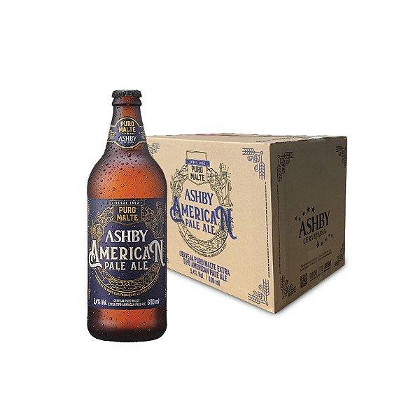 Cerveja Ashby American Pale Ale - Caixa com 12 unidades