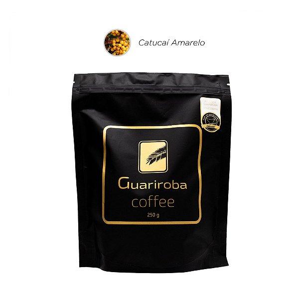 Café Catucaí Amarelo Fermentado (Melaço, Chocolate ao Leite, Maçã, Pera, Acidez Cítrica Agradavel, Corpo Viscoso, Finalização Longa e Doce)