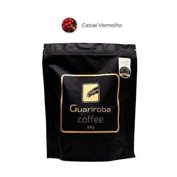 Café Catuaí Vermelho Fermentado (Baunilha, Mel, Pera, Carambola, Acidez Málica e Delicada, Corpo Cedoso, Finalização Doce e Longa)