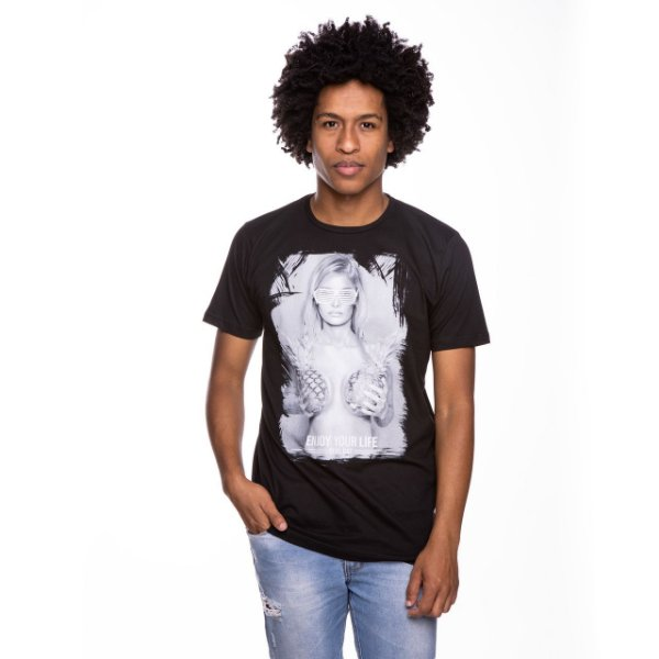 Camiseta Básica Pineapple