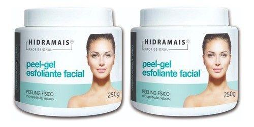 Kit Esfoliante Facial Peel-gel 250g Hidramais - 2 Unidades