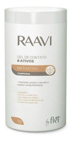 Raavi By Fler Gel De Contato 8 Ativos Natuativo 1kg