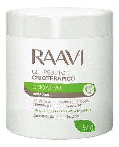 Gel Redutor Crioterapico Corporal Crioativo Raavi 500g