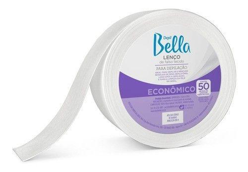 Lenço Falso Tecido P/ Depilação 50m Depil Bella