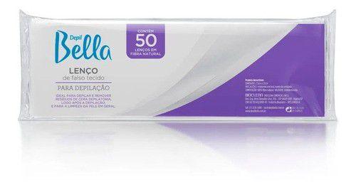 Lenço Depil Bella Gran Style Papel C/ 50 Unidades