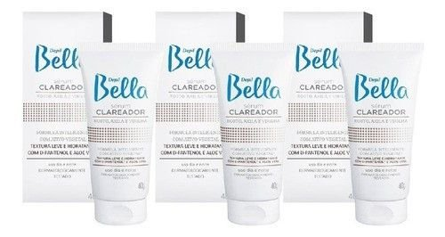 Kit Depil Bella 3 Serum Clareador 40g
