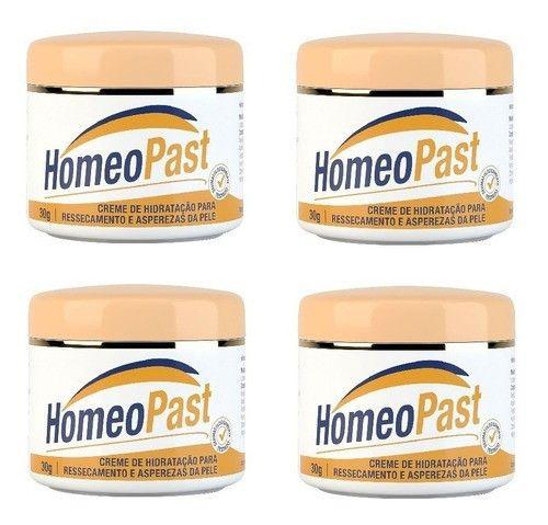 Kit Homeopast Creme Hidratante 30ml 04 Unidades
