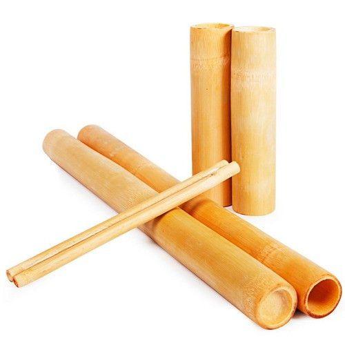 Kit Bambu Para Massagem Com 6 Unidades