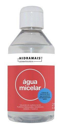 Agua Micelar 250 Ml Hidramais Solução De Limpeza Facial