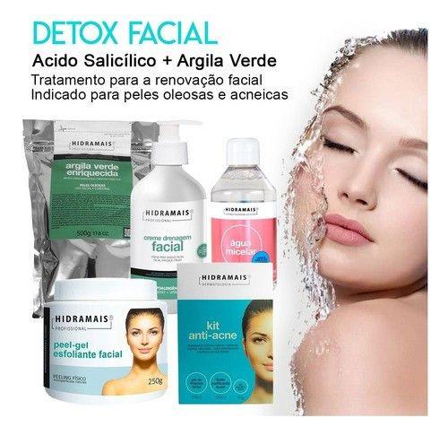 Kit Detox Facial Hidramais