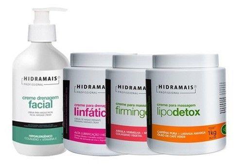 Kit Lipo E Firming Detox + Linfatica + Drenagem Facial