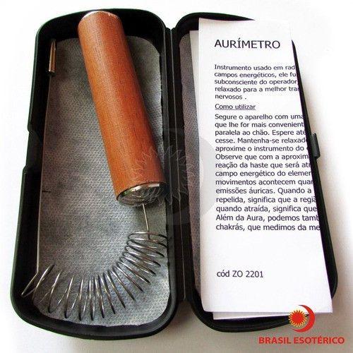 Aurameter / Aurimetro P/ Medição Da Aura Radiestesia